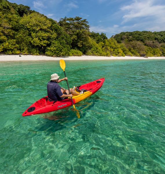 Sea Canoeing