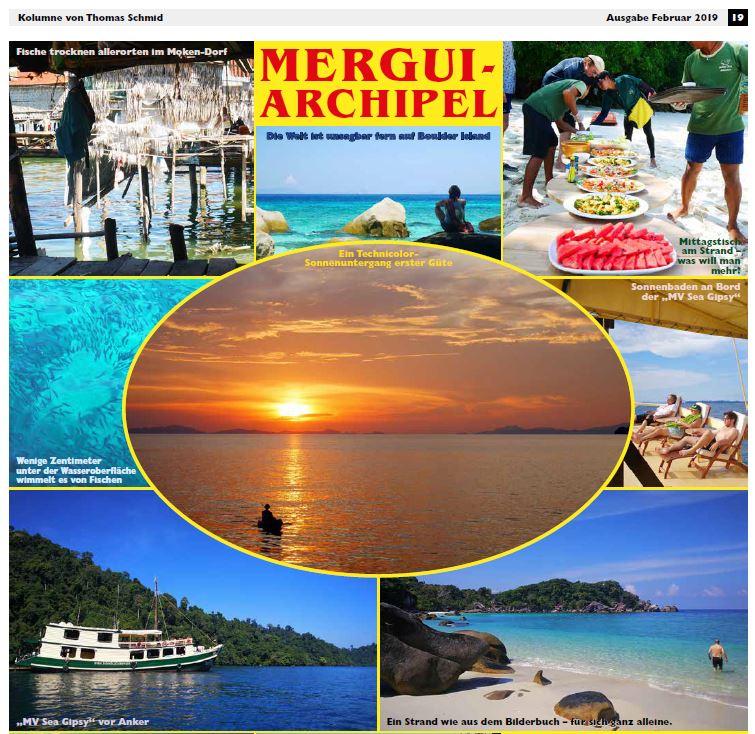 MERGUI-ARCHIPEL Text und Fotos von Thomas Schmid
